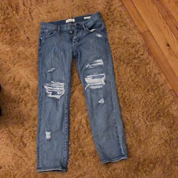 PacSun Denim - Ripped boyfriend jeans